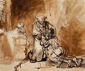 The Return of the Prodigal Son, Rembrandt (1642)